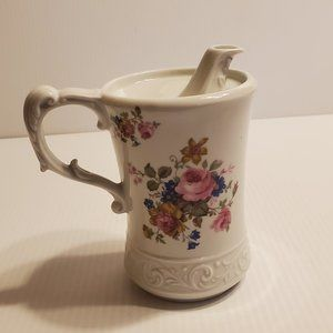 Vintage Oil Olio Ceramic Jug Pitcher  Italy